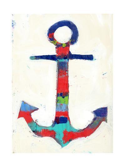Anchor Stripe-Pamela J.-Art Print