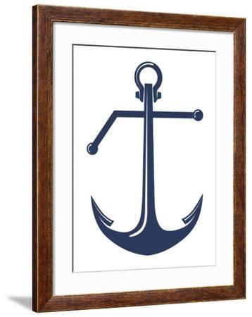Anchor-Monorail Studio-Framed Art Print