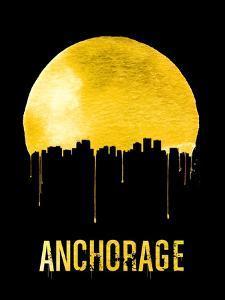 Anchorage Skyline Yellow