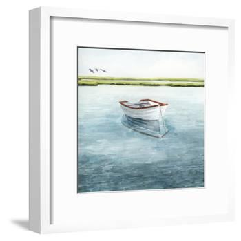 Anchored Bay II-Grace Popp-Framed Art Print