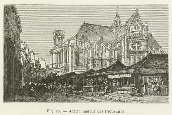 Ancien Marche Des Prouvaires--Giclee Print