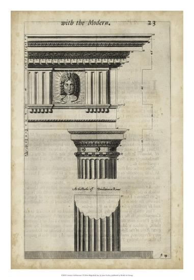 Ancient Architecture I-John Evelyn-Giclee Print