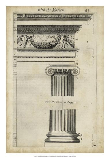 Ancient Architecture III-John Evelyn-Giclee Print