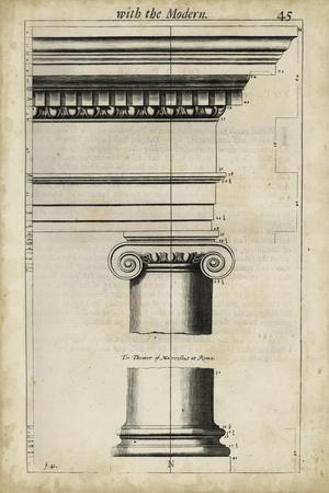 Ancient Architecture VI-John Evelyn-Mounted Art Print