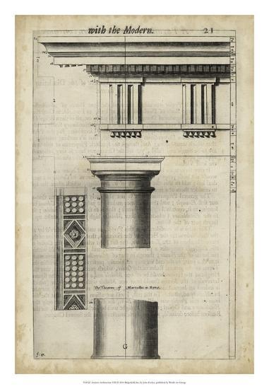 Ancient Architecture VIII-John Evelyn-Giclee Print