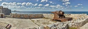 Ancient artillery at Morro Castle, Havana, Cuba