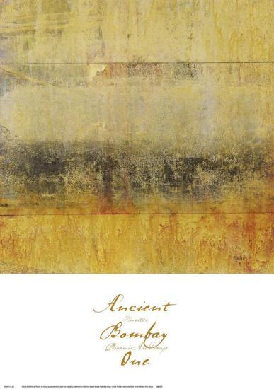 Ancient Bombay I--Art Print