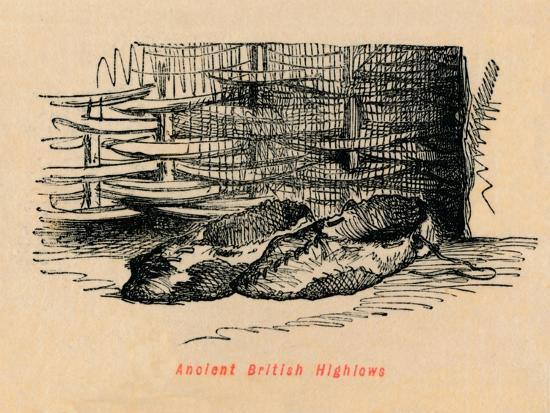 'Ancient British Highlows', c1860, (c1860)-John Leech-Giclee Print