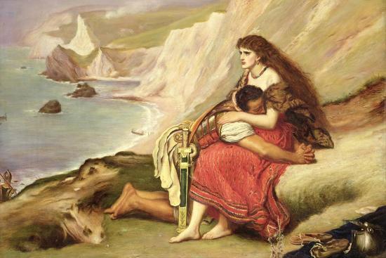 Ancient Briton-John Everett Millais-Giclee Print
