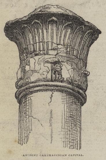 Ancient Carthaginian Capital--Giclee Print