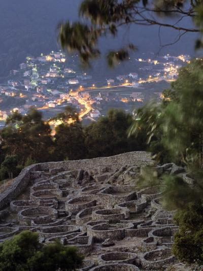 Ancient Celtic Santa Tecla Looks Down on the Modern City of a Garda-Jim Richardson-Photographic Print