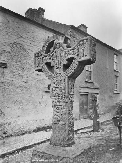 Ancient Cross, Kells, County Meath, 1870S-Robert French-Giclee Print