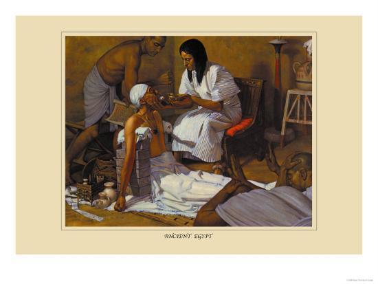 Ancient Egypt-Robert Thom-Art Print