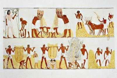 Ancient Egyptian Painting, 1936-Noel Laudin II-Giclee Print