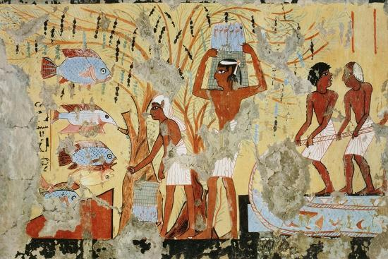 Ancient Egyptian Painting, 1936-Nina M. Davies-Giclee Print