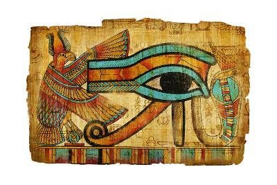 Ancient Egyptian Papyrus-Maugli-l-Art Print
