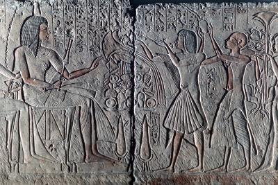 Ancient Egyptian Relief, C1300 Bc--Photographic Print