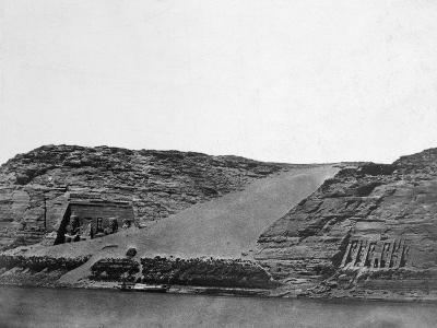 Ancient Egyptian Temples, Egypt, 1852-Maxime Du Camp-Giclee Print