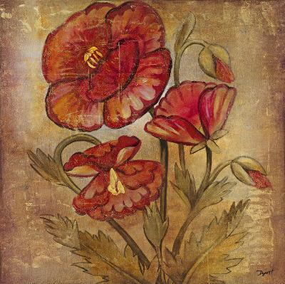 Ancient Floral II-Dysart-Giclee Print