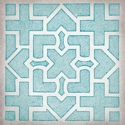 Ancient Geometry II-Maria Mendez-Art Print