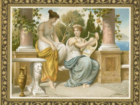 Ancient Greek or Roman Costume--Premium Giclee Print