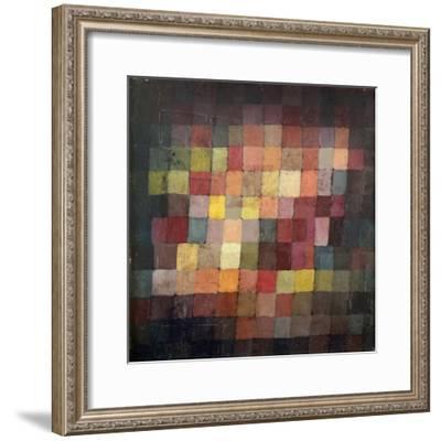Ancient Harmony, c.1925-Paul Klee-Framed Art Print