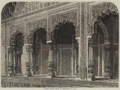 Ancient Hindoo Temple at Bindrabund--Giclee Print