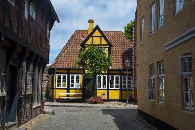 Ancient Houses in Ribe, Denmark's Oldest Surviving City, Jutland, Denmark-Michael Runkel-Photographic Print