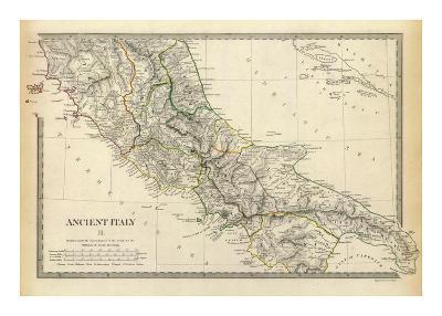 Ancient Italy II, c.1830--Art Print