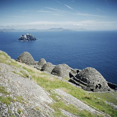 Ancient Monastic Settlement in Skellig Michael, County Kerry, Munster, Republic of Ireland-Andrew Mcconnell-Photographic Print
