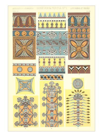 Ancient Near East Designs and Motifs--Art Print