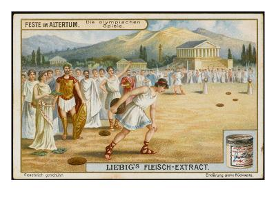 Ancient Olympics--Giclee Print