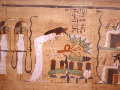 Ancient Papyrus, Cairo Museum of Egyptian Antiquities, Cairo, Egypt-Stuart Westmoreland-Photographic Print