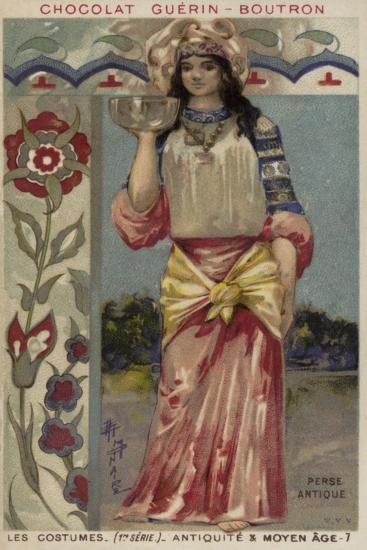 Ancient Persian Costume--Giclee Print