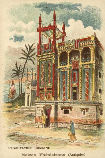 Ancient Phoenician House--Giclee Print