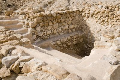 Ancient Ritual Bath In Qumran--Photographic Print