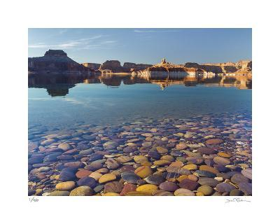 Ancient River Rock from the Colorado River II-Donald Paulson-Giclee Print