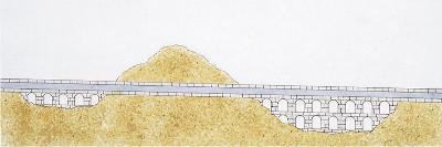 Ancient Roman Aqueduct--Giclee Print