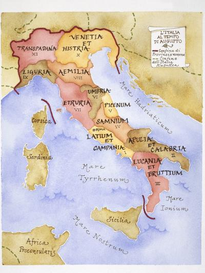 Ancient Rome, Illustration--Photographic Print