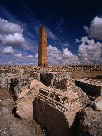 Ancient Ruins, Harran, Turkey-Izzet Keribar-Photographic Print