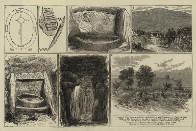 Ancient Sepulchral Mound Near Drogheda, Ireland--Giclee Print