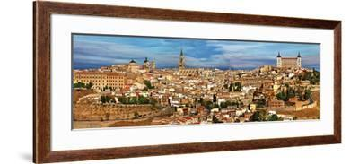 Ancient Spain - Toledo City, Panoramic View-Maugli-l-Framed Photographic Print