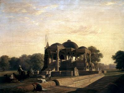 Ancient Temple at Hulwud, 1826-William Frederick Witherington-Giclee Print