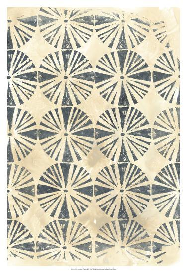 Ancient Textile I-June Erica Vess-Art Print