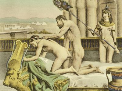 "Ancient Times Plate VII from ""De Figuris Veneris"" by F.K Forberg-Edouard-henri Avril-Giclee Print"