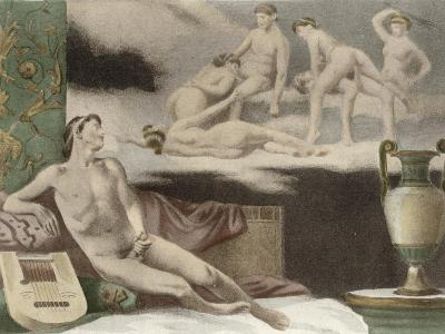 Ancient Times, Plate Xi from De Figuris Veneris by F.K Forberg, Engraved by Artist, 1900-Edouard-henri Avril-Giclee Print