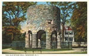 Ancient Viking Tower, Newport, Rhode Island
