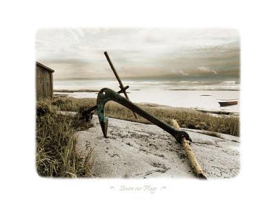 Ancre Sur Plage-Joane Mcdermott-Art Print