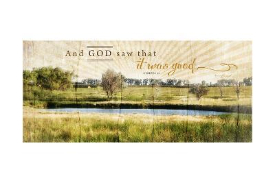 And God Saw That it Was Good-Jennifer Pugh-Art Print