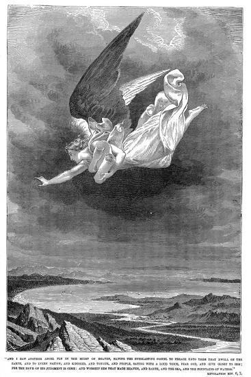 And I Saw Another Angel Fly in the Midst of Heaven..., C1885--Giclee Print